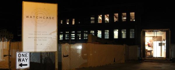 The Bulova Watchcase Factory condominium project in Sag Harbor this summer.
