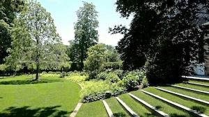 The garden of Jane and Michael DeFlorio, designed by LaGuardia Design Landscape Architecture. Photo: Jeff Heatley