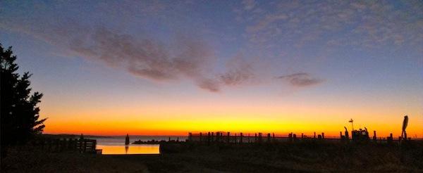 Sunrise, Peconic Bay