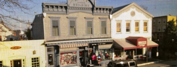 The Reeve Building from the second floor. Greenport.