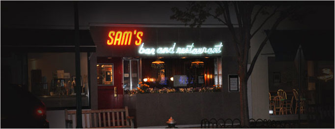 When the lights are on at Sam's, all is right in East Hampton.
