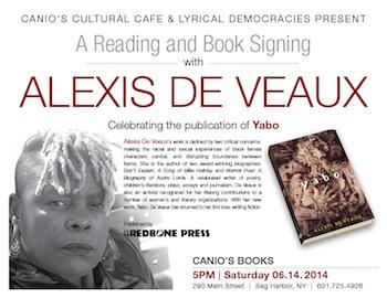 Alexis De Veaux Yabo-Canios poster