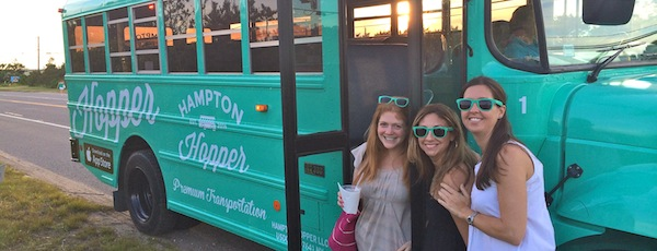 The new Hampton Hopper bus service began running in East Hampton three weekends ago.