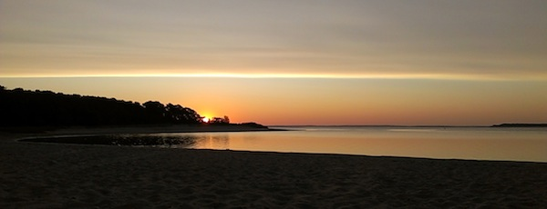 Indian Island Cove, Sunrise