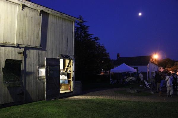 Carolyn Munaco's art in the barn
