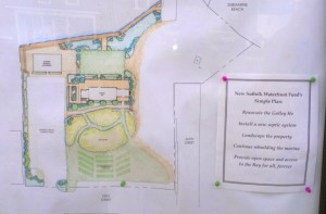 The Waterfront Fund's description of the revised site plan.