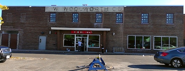 The former Woolworths Building in downtown Riverhead.