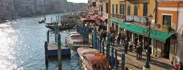 Venice is Sacred.