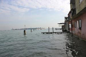 The edge of Venice.