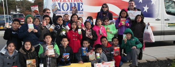Students at Phillips Avenue Elementary School in Riverside are opening a food pantry.