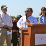 Peconic Land Trust Press Conference Cornell Cooperative Extension Farm Riverhead