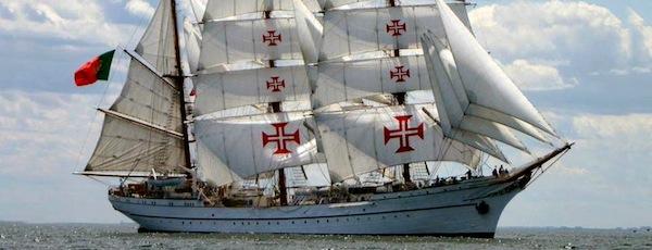 Portugese Naval Vessel Sagres