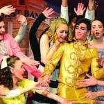 "A scene from Center Moriches High School's production of ""Bye Bye Birdie."""