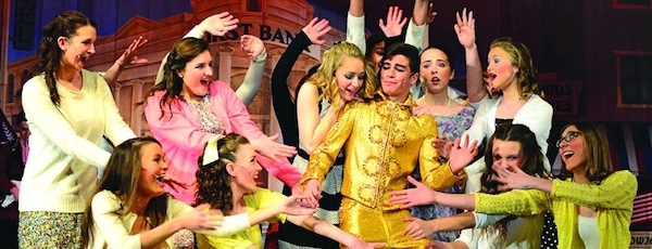 """A scene from Center Moriches High School's production of """"Bye Bye Birdie."""""""