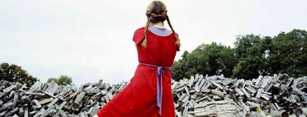 Bastienne Schmidt, The Red Dress, Sagaponack