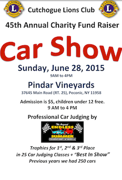 Cutchogue Lions Club Classic Car Show