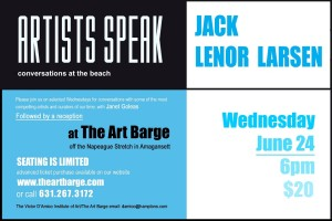 Jack Lenor Larsen Artists Speak