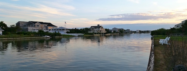 Sunset on the Quogue Canal