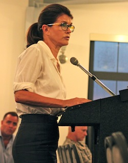 Southampton Town Supervisor Anna Throne-Holst