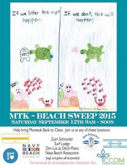 Montauk Beach Sweep Clean-Up