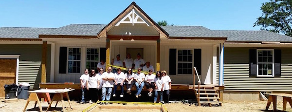 Habitat for Humanity of Suffolk County is looking for helpers on their house under construction in Orient this week. | Habitat for Humanity photo