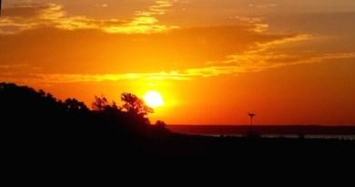 The Sun Begins Waiting on the Osprey