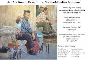 Southold Indian Museum Art Auction — South Street Gallery