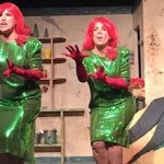 "Chiffon, Crystal and Ronnette sing up a storm in NFCT's current production of ""Little Shop of Horrors"""