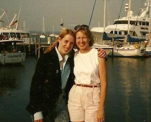 Mother and daughter in Sag Harbor