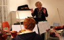 Cellist Jeannie Woelker leads the new chamber ensemble at East End Arts' music school.