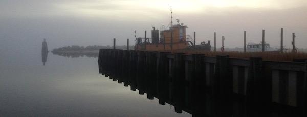 Christmas Fog, New Suffolk  | george cork maul photo