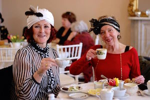 At the Downton Abbey celebration | Peconic Landing photo