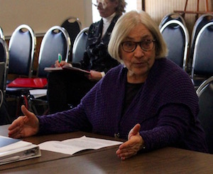 Rona Smith of the Housing Advisory Commission