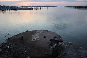 Overlooking Sag Harbor Cove