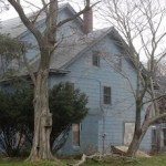 The Brewster House on Flanders Road in March.