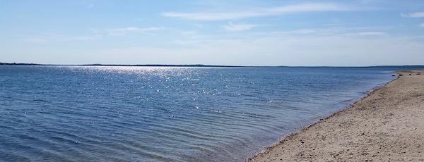 Monday morning at Cedar Beach
