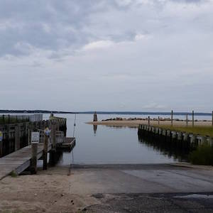 The New Suffolk boat ramp