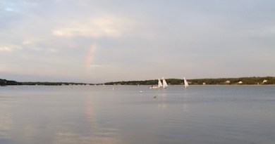 Thursday's sailing lesson, Old Cove Yacht Club