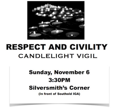 Respect & Civility Candlelight Vigil