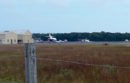 At the East Hampton Airport in September.
