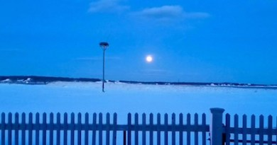 Moon over New Suffolk