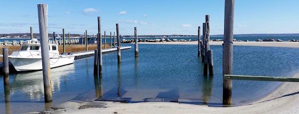 Winter lagoon, New Suffolk