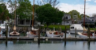 Wooden Ships, Stirling Harbor, Wednesday afternoon.