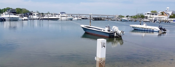 Thursday afternoon, Sag Harbor Cove