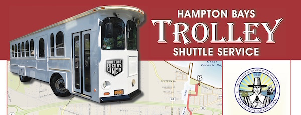 The Hampton Bays trolley, expected to launch June 17.