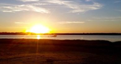 Flanders Bay, Sunset.