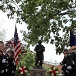 At Greenport Fire Department's annual memorial service June 11. | Beth Young photo