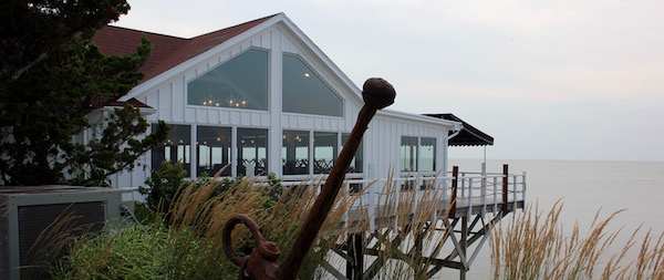 The Halyard Restaurant, due to open any day now at the Sound View Inn in Greenport.