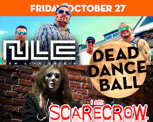 I Am Scarecrow's Dead Dance Ball at The Suffolk Theater