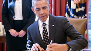 Former President Barack Obama had signed the executive order creating DACA.